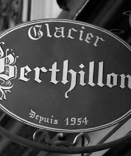 plaque Berthillon
