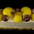 Bûche Mandarine Chocolat Grand Marnier Meringues Chocolatées