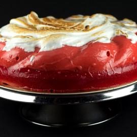 Vacherin rouge façon omelette norvégienne