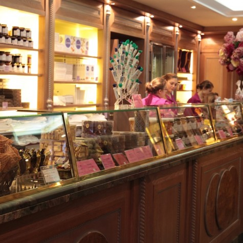 Salon de thé – Boutique